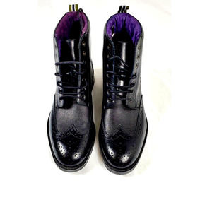 Ted Baker Mens Brogue Boots Size 8 NWT